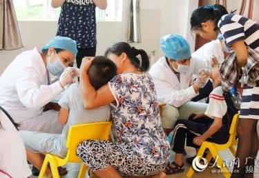 2016年广西孤残儿童口腔疾病综合干预项目启动复查